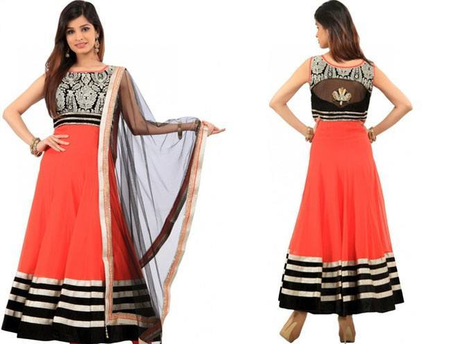 Kalki Solid Anarkali Suit