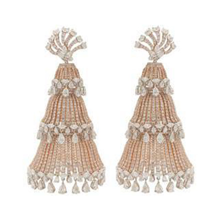 Manish Malhotras Beautiful Earrings