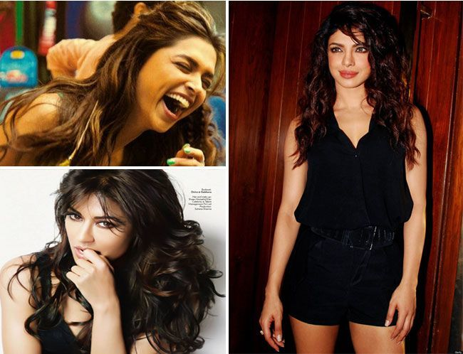 Messy Waves for Bollywood Celebrities
