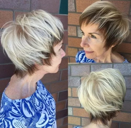 Modern Pageboy Look for Women Over 50