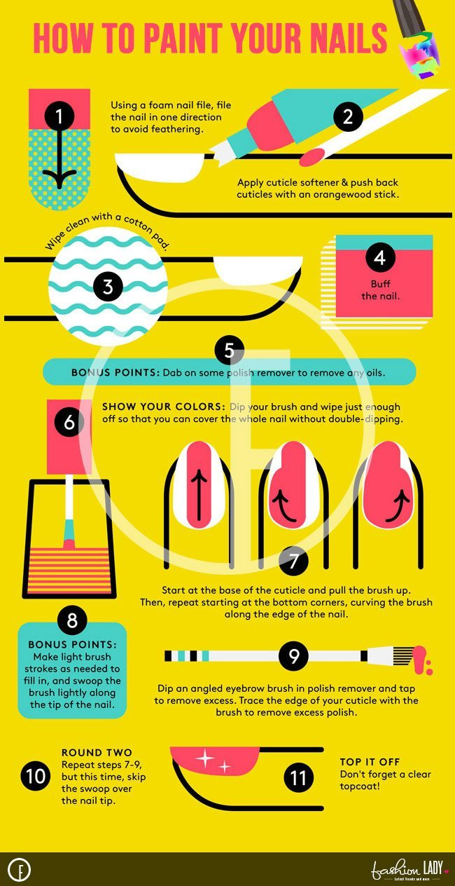 How to apply nail polish perfectly like a pro How to apply nail polish perfectly like a pro new images