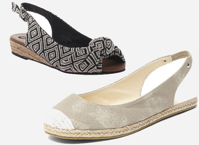 Sling back Espadrille Sandals