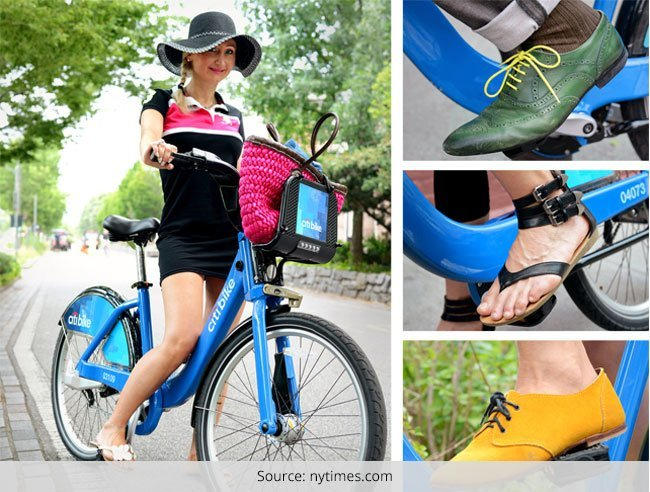 Street Style for the Biking Women