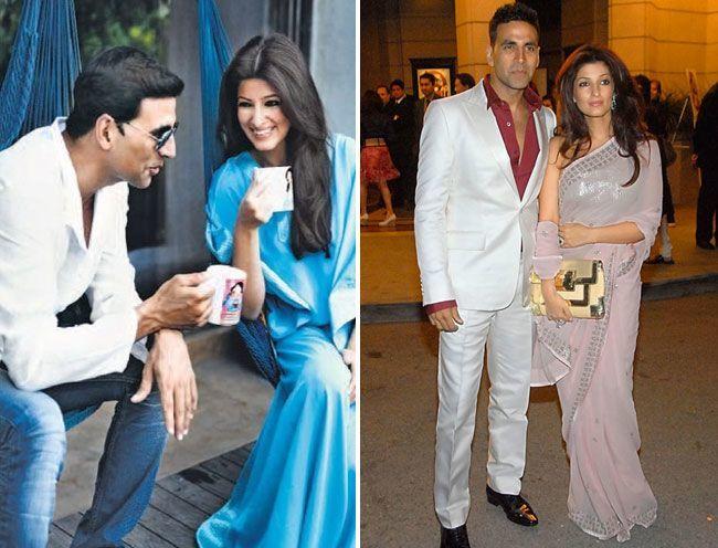 7. Akshay Kumar and Twinkle Khanna