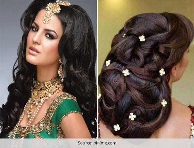 Tremendous Wedding Hairstyles For Long Hair Western Amp Indian Bridal Hairstyles Short Hairstyles For Black Women Fulllsitofus