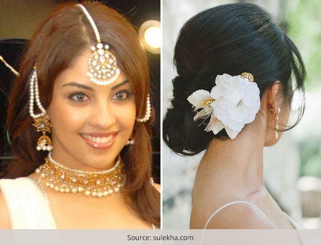 Bridal Hairstyles For Short Hair Indian Fashion Blog