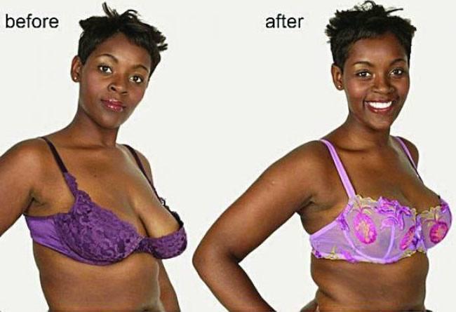 Changing bra