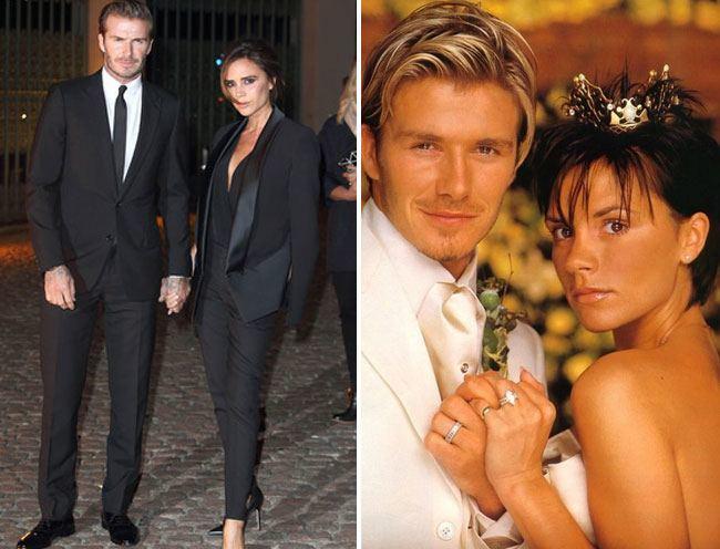 1. David and Victoria Beckham