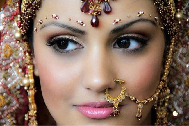The Beautiful Gujarati Bride Bridal Hairstyle Bridal