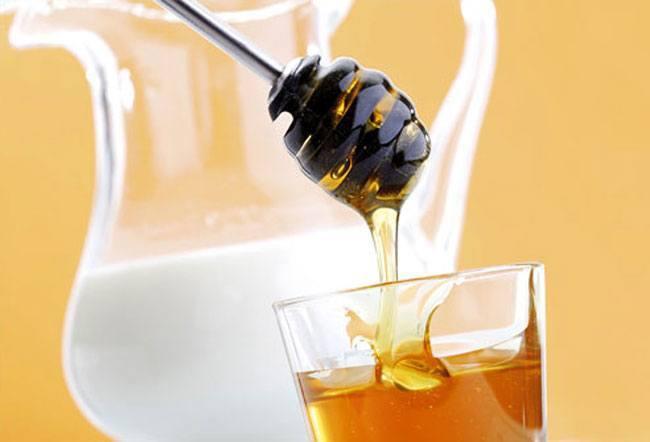 Honey milk facial