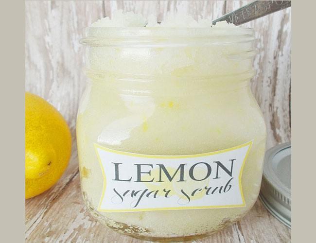 Lemon Face Scrub