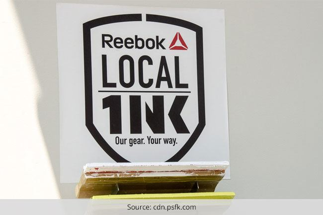 Reebok Products sold in India