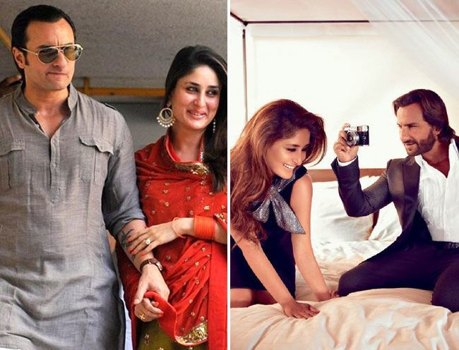 2. Saif Ali Khan and Kareena Kapoor Khan