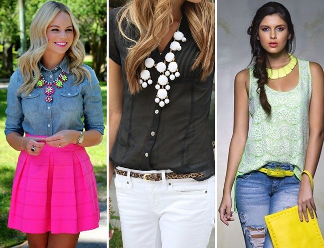 Statement Necklace styles