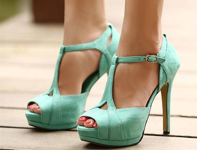 Strappy Peep Toes