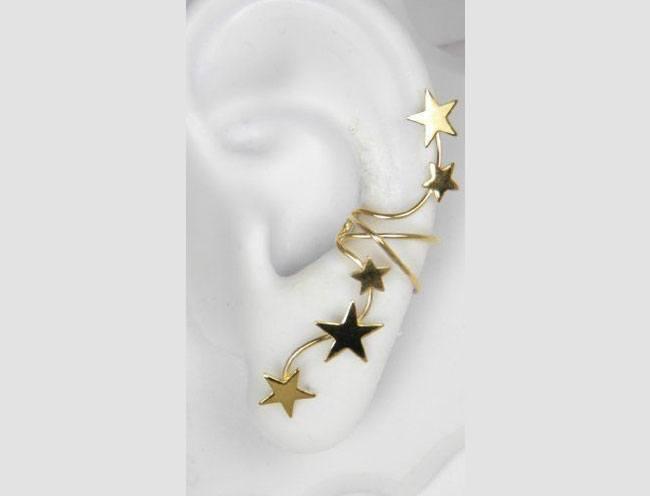 Strar Burst ear cuff