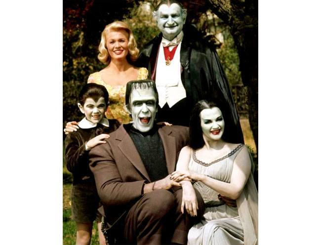 TV Show Munsters Characters