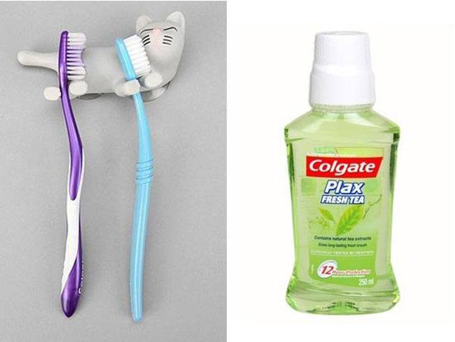 Toothbrush Toothpaste
