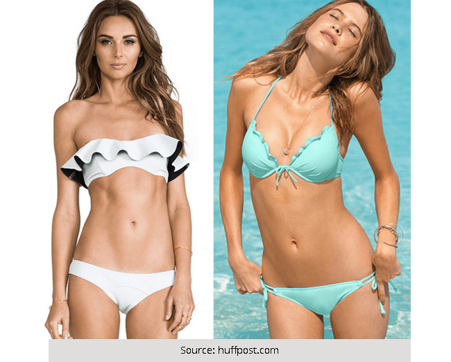 Top 5 Swimsuits That Look Best on Women With Small Breast
