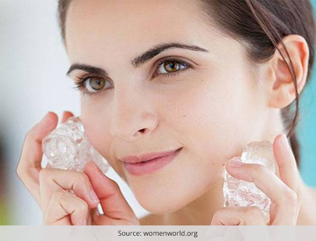 Ice As Your Beauty Secret