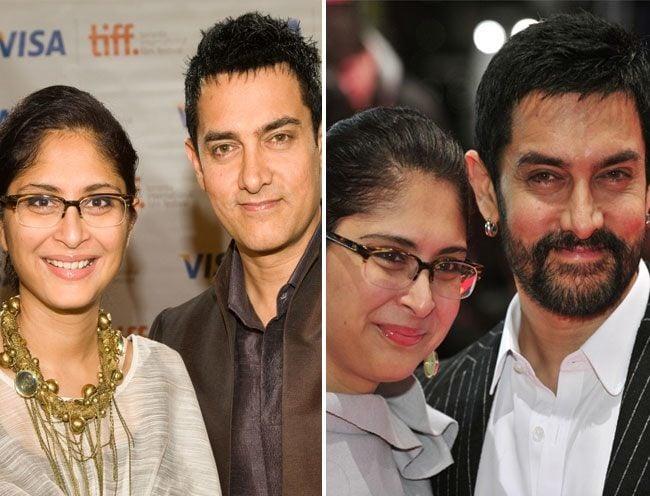 6. Aamir Khan and Kiran Rao