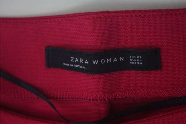 brand new zara round neck dress