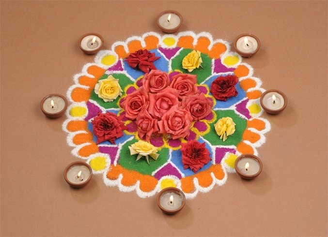 Creative Rangoli Designs For Diwali
