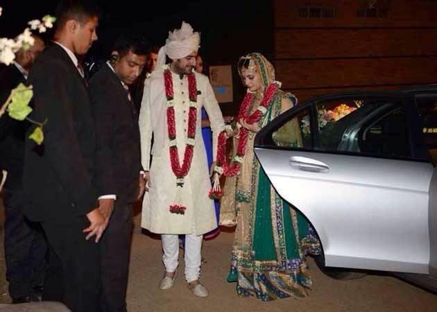 Dia Mirza and Sahil Singha wedding