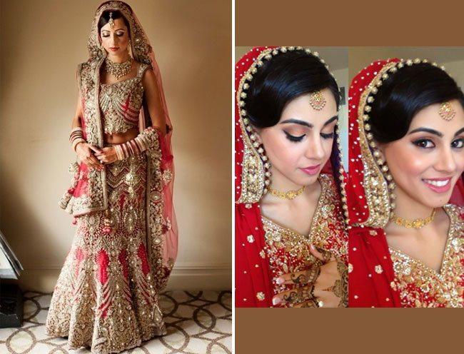 dupatta into your bridal look