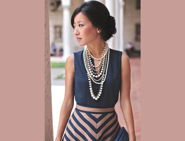 love statement necklace