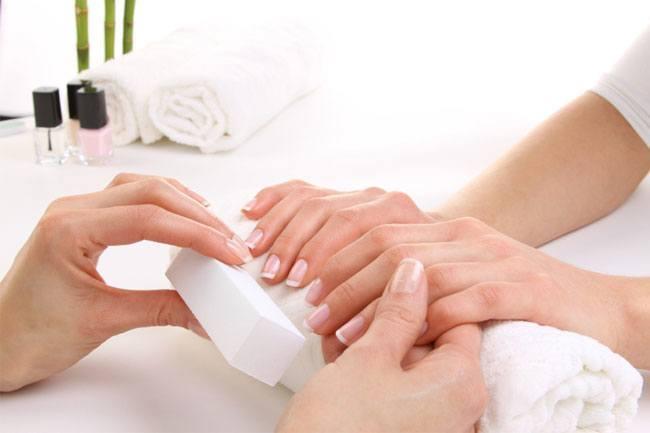 nail massage