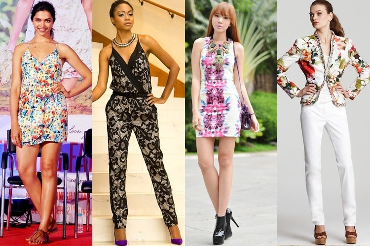 Ways to Style Floral Prints