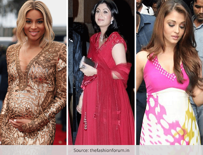 5f8d86e59b271 25 Most stylish Pregnant Celebs .