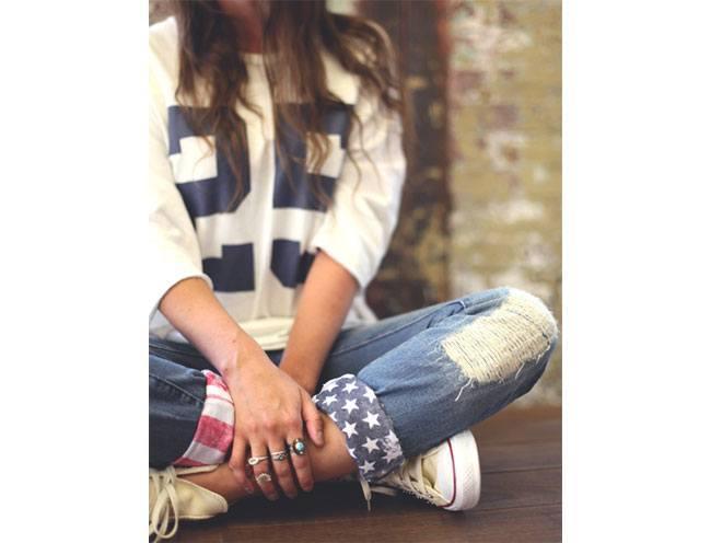 American Flag Cuff