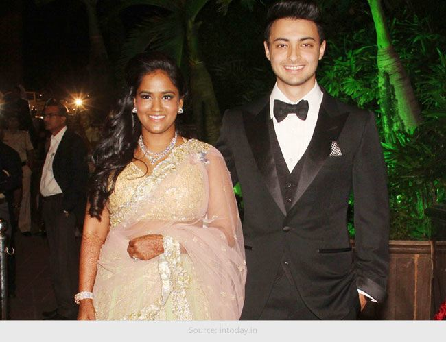 Arpita Khans series of costumes during her wedding festivities