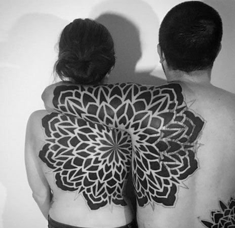 black-and-white-flower-power
