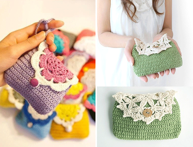Crochet Patterns Make Your Own Crochet Purse Or Handbag