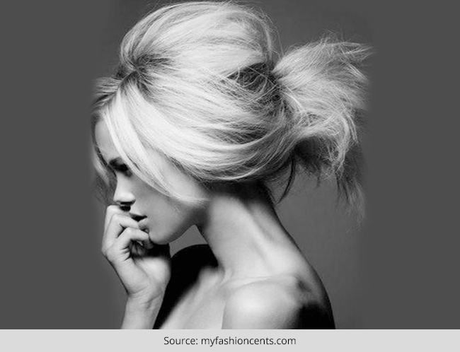 How to Pouf Your Hair