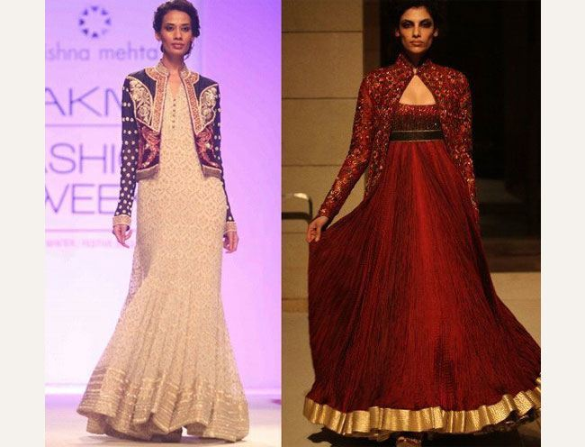 Jackets with Indian Wear on the Runway