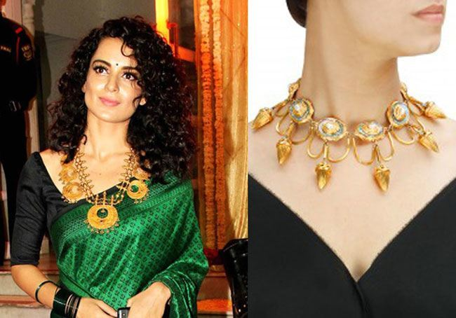 Kangana Ranaut looked ravishing in the green saree