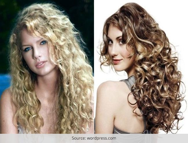 Spiral Perm Hairstyles for Long Hair