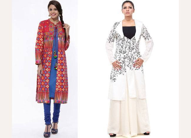 Long Kurta Styled Jackets