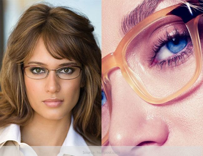 Make Up Tips Ideas For Spectacled Women