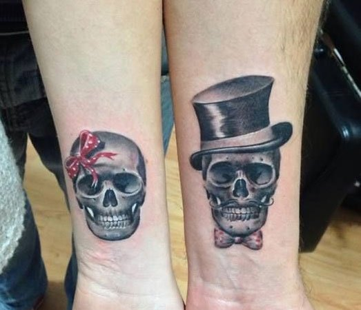 Mr And Mrs Skull