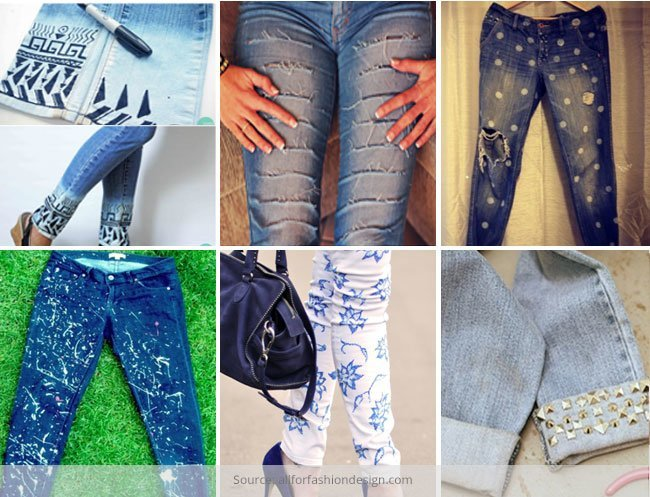 New Look to Your Old Denims