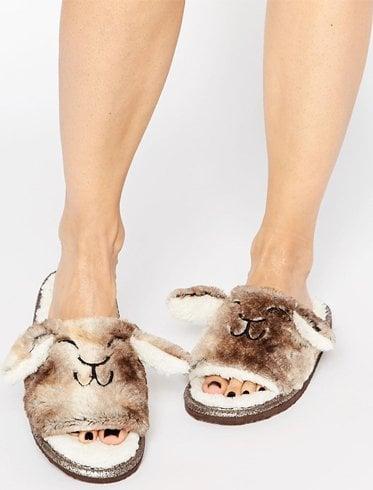Pyjama Style Mules