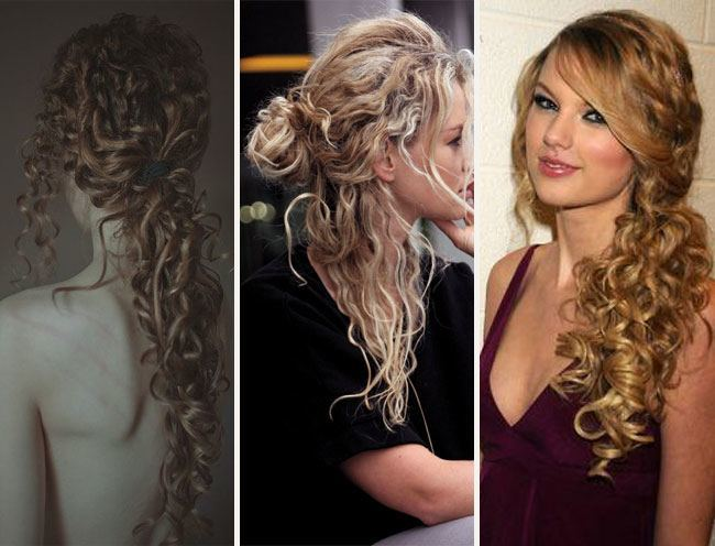 hairstyles for sweet 15 : Spiral Hairstyles
