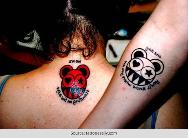 3d216f6c4 Top 50 Cute Couple Tattoo Ideas .