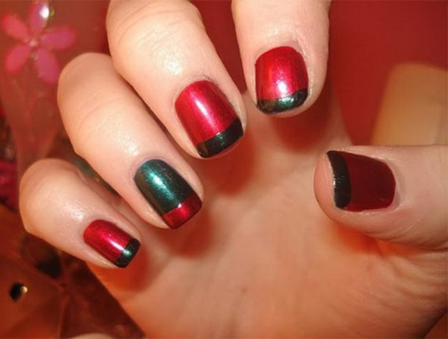Christmas nailart Designs