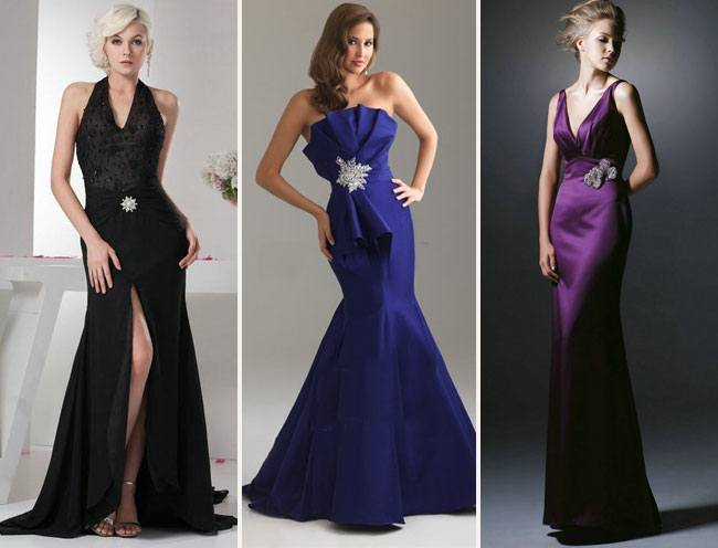 With Floor Length Dresses